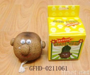 craft,toys,gifts,magic egg,grass toy