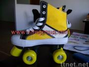 roller shoes with four wheels