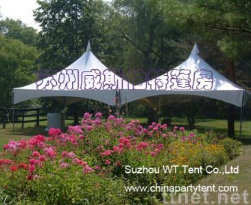 Spring top tent
