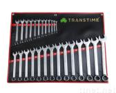 Combination Wrench Set w/Mirrow Finishing/Chrome Vanadium