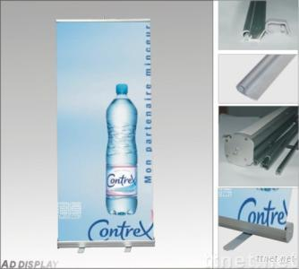 roll up banner stand,display