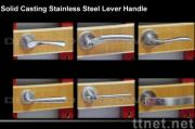 Stainless Steel Solid Casting Lever Handle