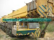 Used DEMAG Truck Crane 300T