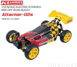 1/10 Scale Electric Powered 4WD Off-Road Buggy