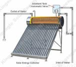 Pressure Solar Water Heater, Solar Collector, Solar Working Station, Renewable Energy