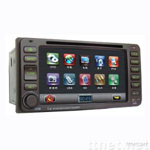 Special panel for Toyota Vios/old corolloa/old camry 6.5 inch TFT LCD double din car DVD with bluetooth