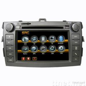 Double Din Car DVD with 7 inch LCD,with Bluetooth for NEW COROLLA
