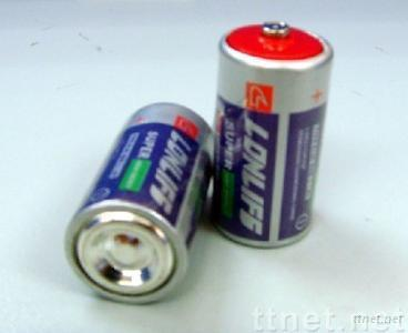 R14 dry battery with paper jacket