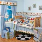 Home Run 6-piece Baby Crib Bedding Set