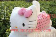 Sanrio Hello Kitty Plush Tissue Box Cover