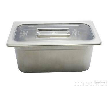 Stainless Steel Square Basin (Large)