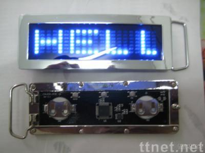 led buckle/LED buckle, mini LED buckle, LED flash buckle, LED flashing buckle, LED fashion buckle,LED belt buckle