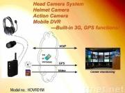 3G GPS GSM PVR action head helmet camera mobile dvr_Taiwan Eagle CCTV LTD.