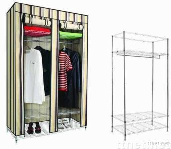 Large Size Wardrobe with Easily to Install Within One Minute.