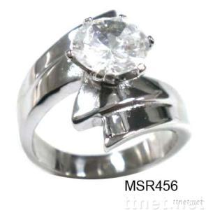 stainless steel jewelry ring