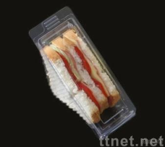 sandwich tray,triangle sandwich container