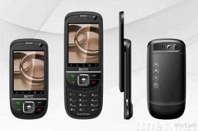 quad-band analog TV mobile phone JC608s -- latest quad band ,with dual sim cards,fashionable style TV mobile phone.