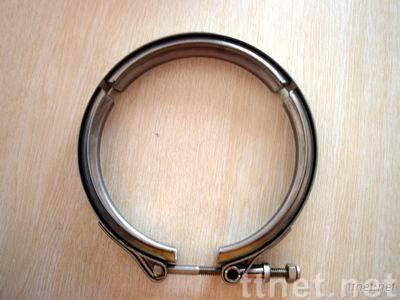 V-type hose clamp