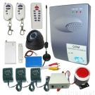 GSM alarm system with MMS function