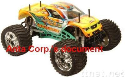 CEN Racing Genesis GST 7. 7 RTR Super 3-SPEED Transmission Nitro Monster Truck RC Toys. NEW!!! rc