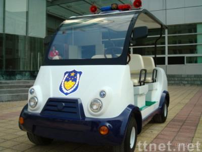 4-seat electric patrol police car
