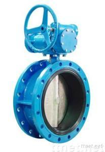 Series DL flanged butterfly valve