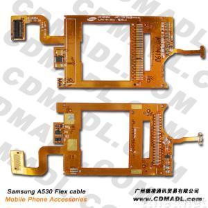 sell samsung A530 flex cable