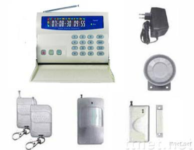 LCD display GSM security alarm systems(LS-GSM-002)