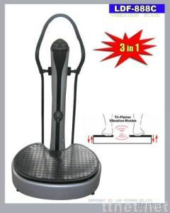 CE/RoHS Approved Vibration Plate with 3 Motion Styles and 2 Motors, 0 to 50 Levels Speed Range