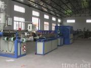 PVC fiber reinforced (wire reinforced) soft pipe production line