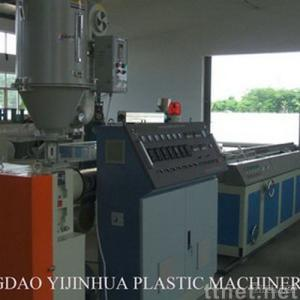 WPC production extrusion line