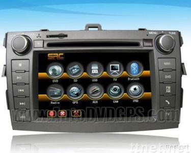 2007 2008 Toyota Corolla DVD player with indash GPS Navigation Radio Touchscreen Camera