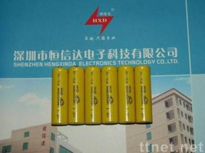 NI-CD 1.2V AA600mah rechargeable battery