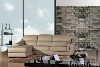 3+chaise Compact Modern Contemporary Leather Sofa