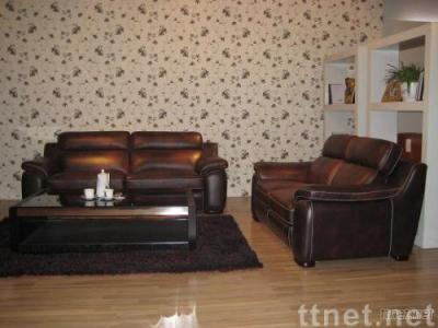 compact Modern Contemporary Square Leather Sofa