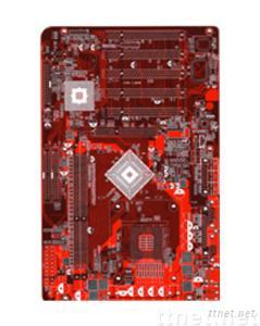 8-layers Red Soldermask board