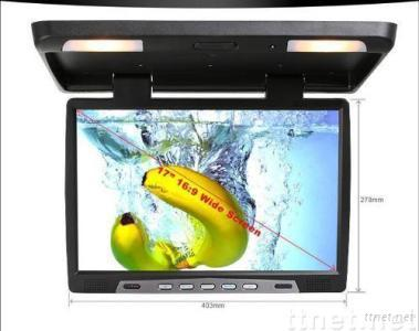 17 inch Car Roof Mount TFT LCD Monitor