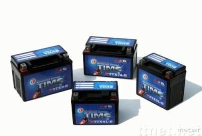 12V, Motorcycle Battery TTX Series Motorcycle Maintenance Free Battery.