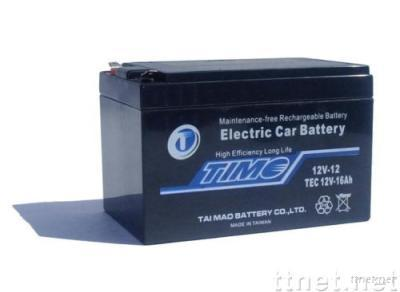 TEC12V16Ah.ELECTRIC CAR BATTERY. more 30% life. test available.