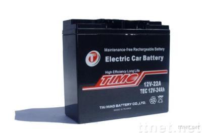 TEC12V24Ah.ELECTRIC CAR BATTERY. more 30% life. test available.