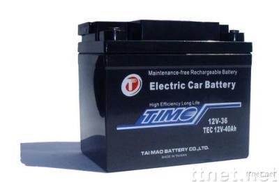 TEC12V40Ah.ELECTRIC CAR BATTERY. more 30% life. test available.