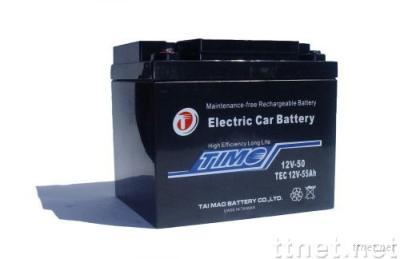 TEC12V55Ah.ELECTRIC CAR BATTERY. more 30% life. test available.