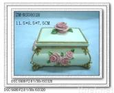 Polyresin jewellery case,resin crafts suppliers,polyresin jewel box