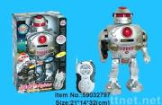 Remote controlled dancing Robot with ligth