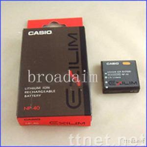 NP-40/NP40 battery for Casio ExiliM Zoom EX-Z750 Z850