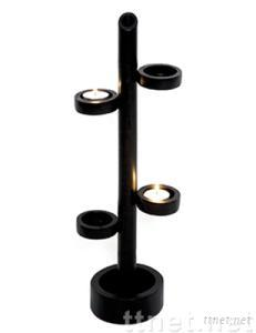bamboo candle stand