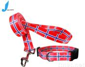 printed pet leash, pet belts, nylon collar,dog collars