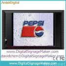 10  lcd  monitors for advertising POP POS/digital signage/LCD monitor digital advertising