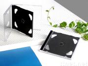 10.4mm black CD case / double