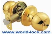 Door locks Tubular Knobset 6072PB-ET